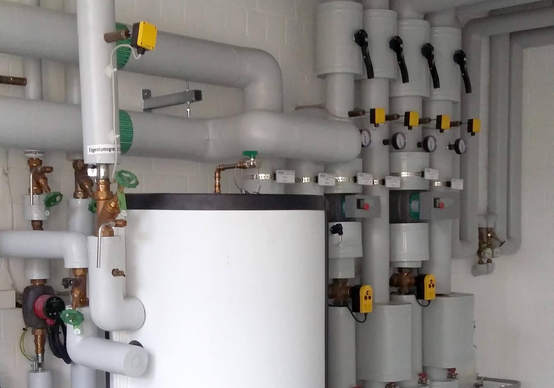 Planung der Erneuerung einer Heizungs-Verteilstation im Technologiezentrum in Warnemünde