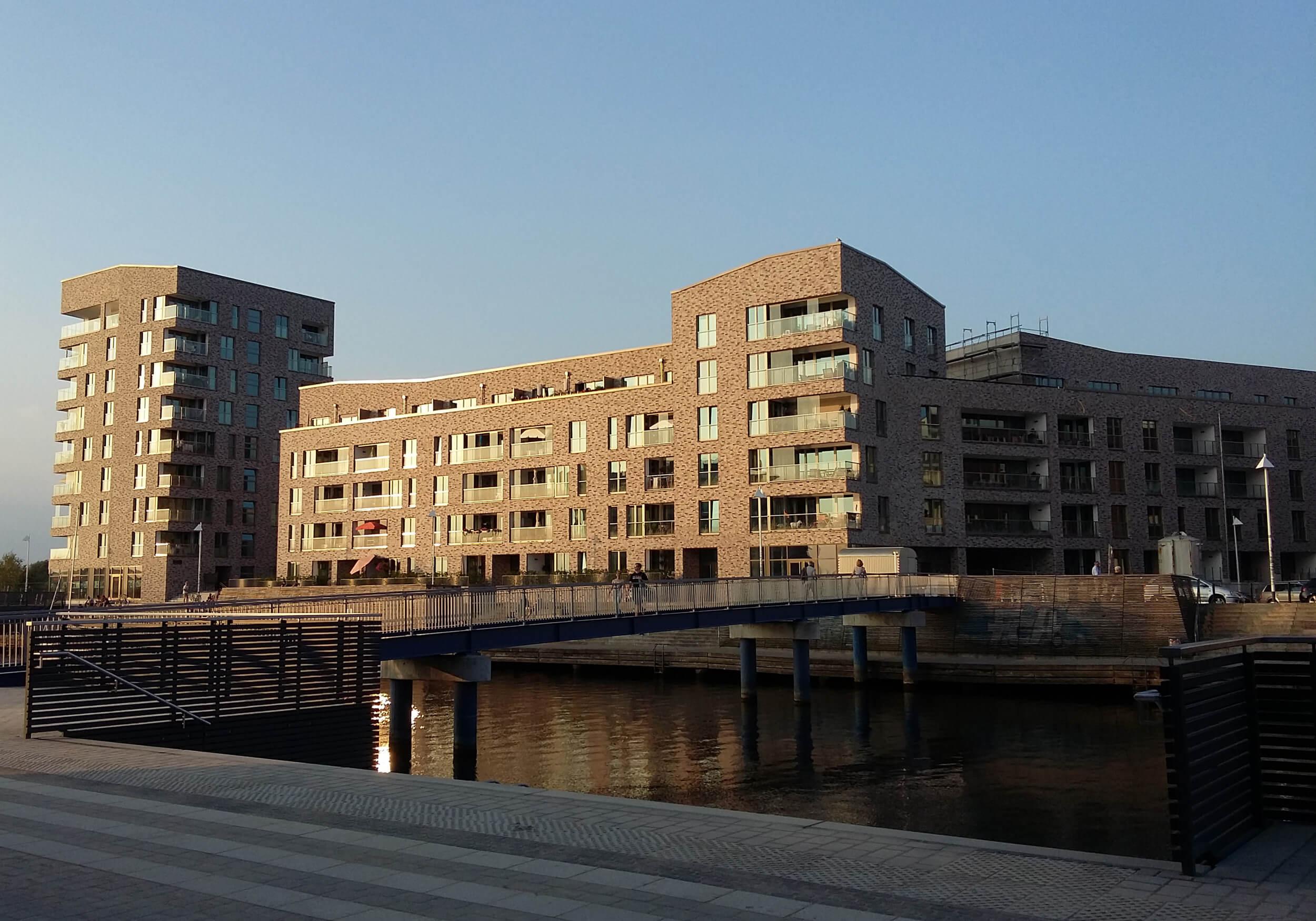 energetische Überwachung Holzhalbinsel in Rostock Außenansicht