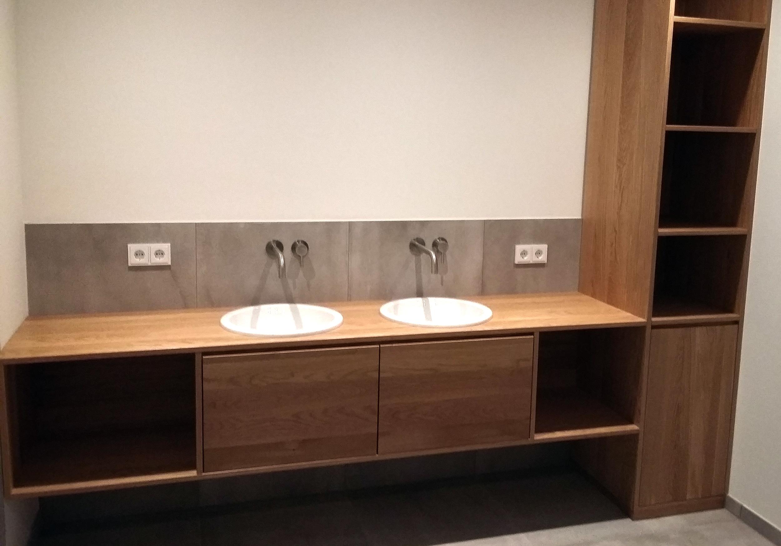 Planung Sanitär Waschtischvariante in einem Einfamilienhaus in Ahrenshoop