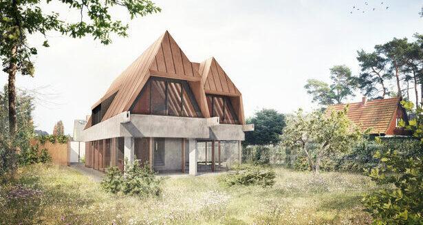 Außenperspektive Einfamilienhaus in Dierhagen