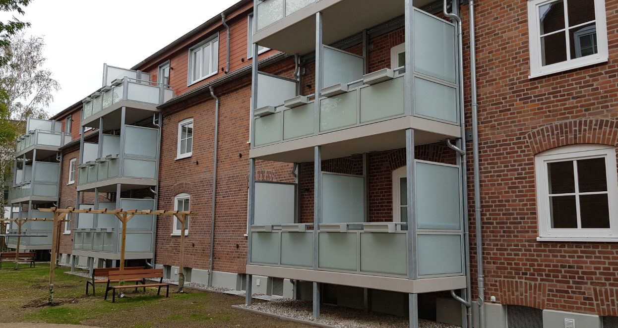Mehrfamilienhaus Lortzing-Straße 1-3 in Warnemünde Außenansicht