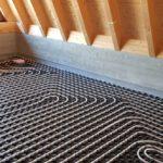 Fußbodenheizung Einfamilienhaus in Dierhagen Dachgeschoss